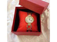 Quartz Ladies Gold Dress Watch