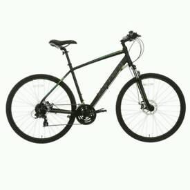 Mens carrera Crossfire 2 mountain bike