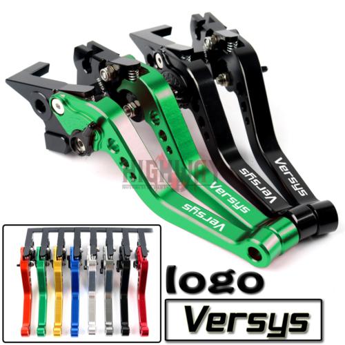 For Kawasaki VERSYS 650 KLE650 09-14 Folding Extending Clutch Brake Levers CNC