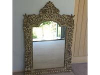 Large Hand Carved Balinese Mirror would be a stunning feature in any room