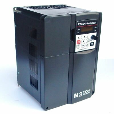7.5 Hp 3 Phase 460 Volts Teco Nema 1 Variable Frequency Drive N3-407-c-u
