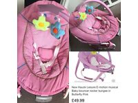 Hauck Musical/Vibrating baby chair