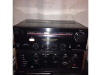 SONY TA-V710 VINTAGE STEREO AMPLIFIER WITH PHONO STAGE FOR RECORD DECK