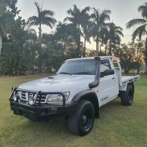 2006 Nissan Patrol GU II DX White 5 Speed Manual Cab Chassis Alberton Gold Coast North Preview