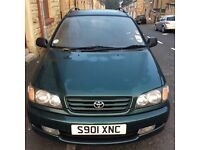 TOYOTA PICNIC 7 SEATER MPV 2.2 DIESAL VERY RARE CAR 0NLY 4 IN THE UK FOR SALE FULL HISTORY !!!!!!