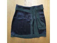 Lovely Kookai Silk wrap-around skirt - Size S (36) but fits an M