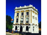 FLOOR/BAR STAFF REQUIRED FOR A FABULOUS FOODIE PUB- ISLINGTON FULL & PART TIME