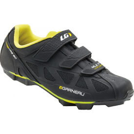 Louis Garneau cycling shoes AS NEW with SPD cleats Size 43 for bike, swap possible