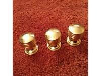 Brass cupboard door handles