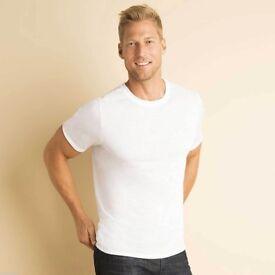 T shirt Printing . 220 x Gildan Sublimation Blank T Shirts