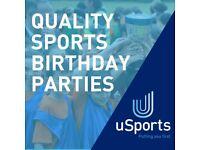 Sports Birthday Parties for kids   Football   Dodgeball   Cricket   21 Sports Reading   Berkshire  