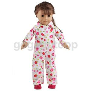 Cute Pajamas PJS Nightgown Clothes for 18