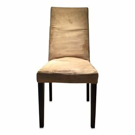 Beige Suede Chairs