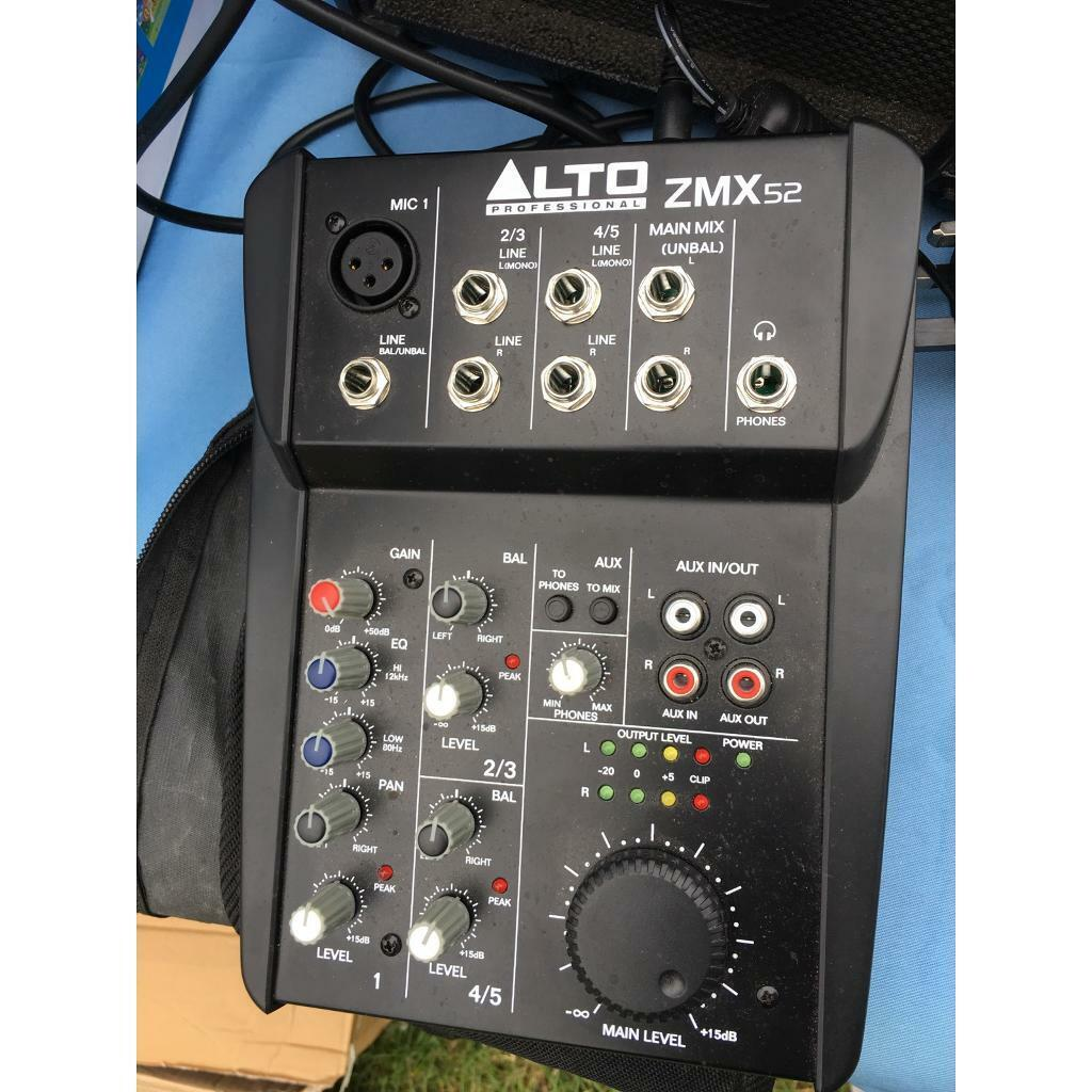 Alto professional ZMX52 Mixer | in Hull, East Yorkshire | Gumtree