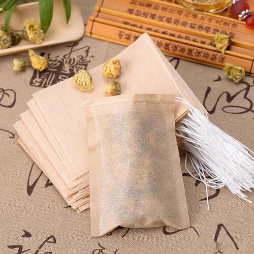 4 Satz für 400 stücke Leere Tee Filtertüten Lose Kräuter Teebeutel