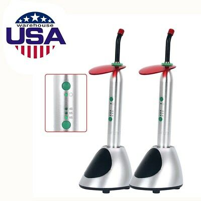 2x Dental Led Curing Light 2700mwc Wireless No Vibration Noiseless Ys-c