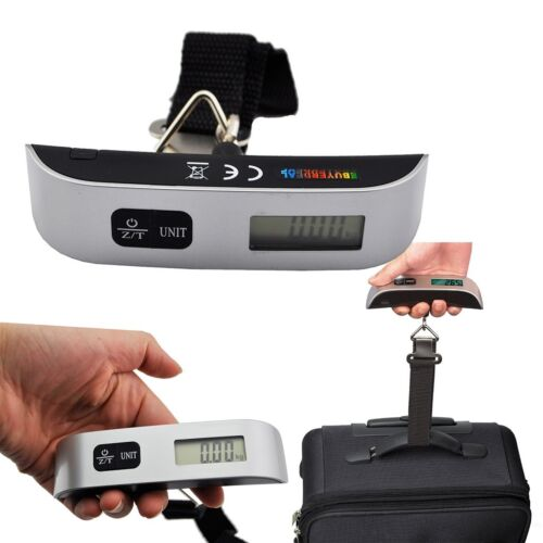 50kg/10g Weight LCD Display Portable Electronic Travel Hanging Luggage Scale