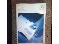 Toyota Landcruiser Handbook/Manual £20