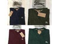 Burberry London 100% Cotton Sweaters S-XXL size