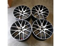 BRAND NEW, MASSIVE DISCOUNT 20 INCH ALLOYS -CS LITE STYLE 5X120 X5'S/ VW TRANSPORTER