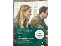 Brand New Advanced Bookkeeping BPP Question Bank Level 3 AAT