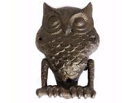 Cast Iron Owl Door Knocker
