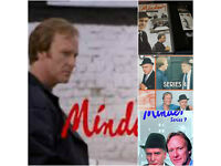 COMPLETE MINDER ALL 7 SERIES ON VHS BOXSETS