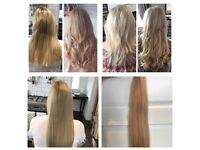 100% human hair extensions!