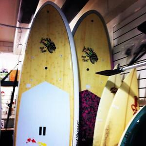 New and used Sups, 2 x Demo's left wood veneer  $799 Newcastle Newcastle Area Preview