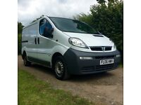 Vauxhall Vivaro 2900DI SWB LOW MILES, LONG MOT, 3 MONTH WARRANTY INCCLUDED IN PRICE.