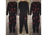 Ladies brand new co-ord loungewear lounge suit jumper