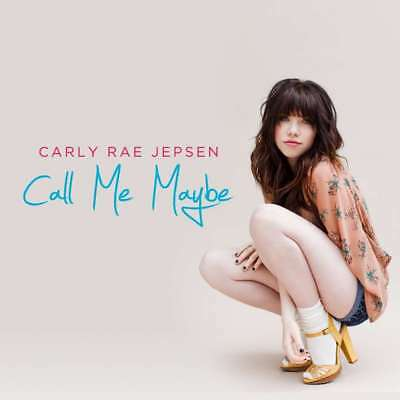 New  Carly Rae Jepsen   Call Me Maybe Cd Single
