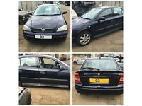 Vauxhall Astra 1.4 Manual Petrol Saturn Blue Z21A 2003 (Front Bumper) All Car Parts Available
