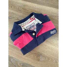 Super dry medium sized male polo top