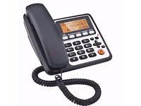 Binatone Corded Telephone with Answer Machine..................New