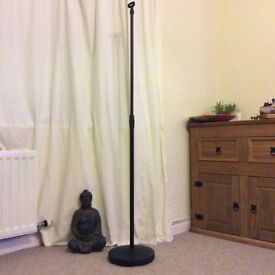 Microphone stand,adjustable height.