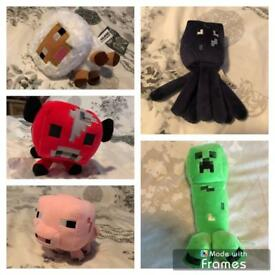 10 minecraft teddy's