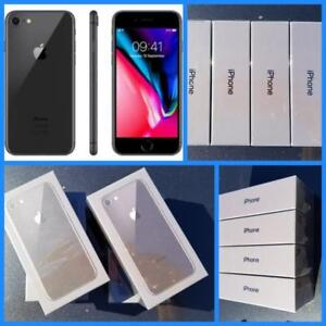 Brand New iPhone 7 32GB ($550)/ iPhone 8 ($750), Unlocked, Full Apple Warranty! Rogers/Telus/Bell/Freedom/International!