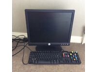 Dell monitor and keyboard