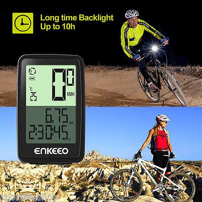 Enkeeo Wired Fahrradcomputer Fahrradtacho Kilometerzähler Speedometer Odometer online kaufen