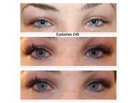 OFFER: Individual eyelashes, eyelash extensions, 3D Russian eyelashes, microblading, fat freezing