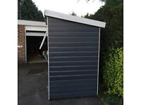 7x4 pent shed