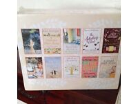 """BNISP GREAT IDEA FOR MOTHERS DAY """"SUMMER READING 10 Paperback books n sealed gift box"""