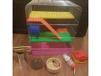 Hamster home with freebbies, 30 GBP