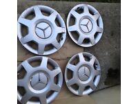 Mercedes wheel covers