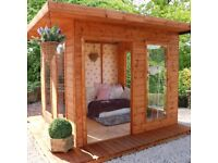 THE CUBE - SUMMERHOUSE - NEW AND IMMACULATE