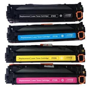 New Compatible Toner Cartridges for Canon 131 BK/C/M/Y fit ImageClass MF8280CW/624CW/628CW ImageClass LBP7110CW $30.00