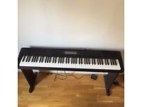 Casio CDP-220R Digital/Stage Piano With Stool, Custom Stand & Pedal
