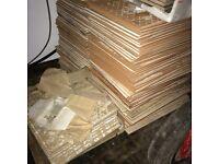 Ceramic tiles over 100 tiles