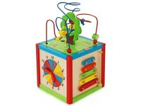 East Coast Nursery Rest & Play 5 in 1 Activity Cube Baby Todder Toy 12 Months+